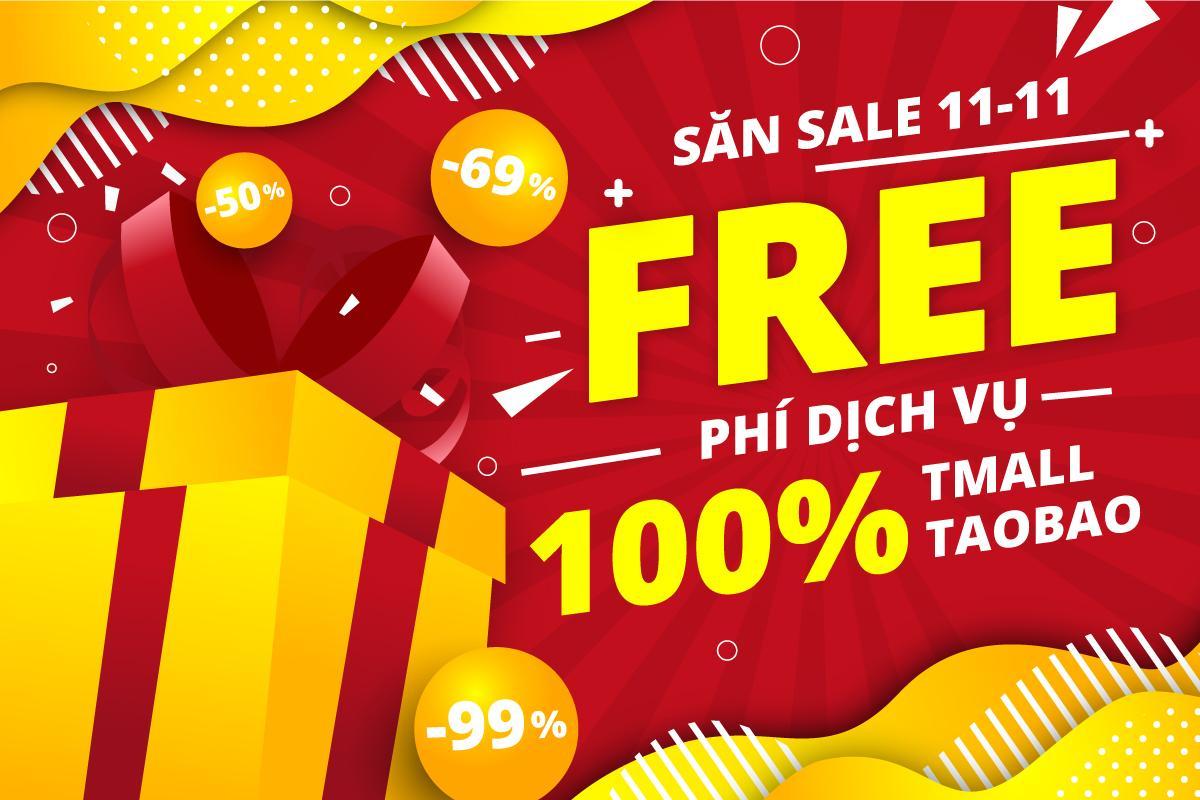 mua hàng giảm giá 11-11-2020 trên taobao tmall free 100% phí dịch vụ từ iChina Company
